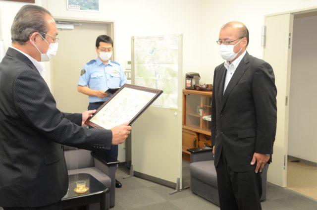 20210727_福島県優秀安全運転事業所表彰式